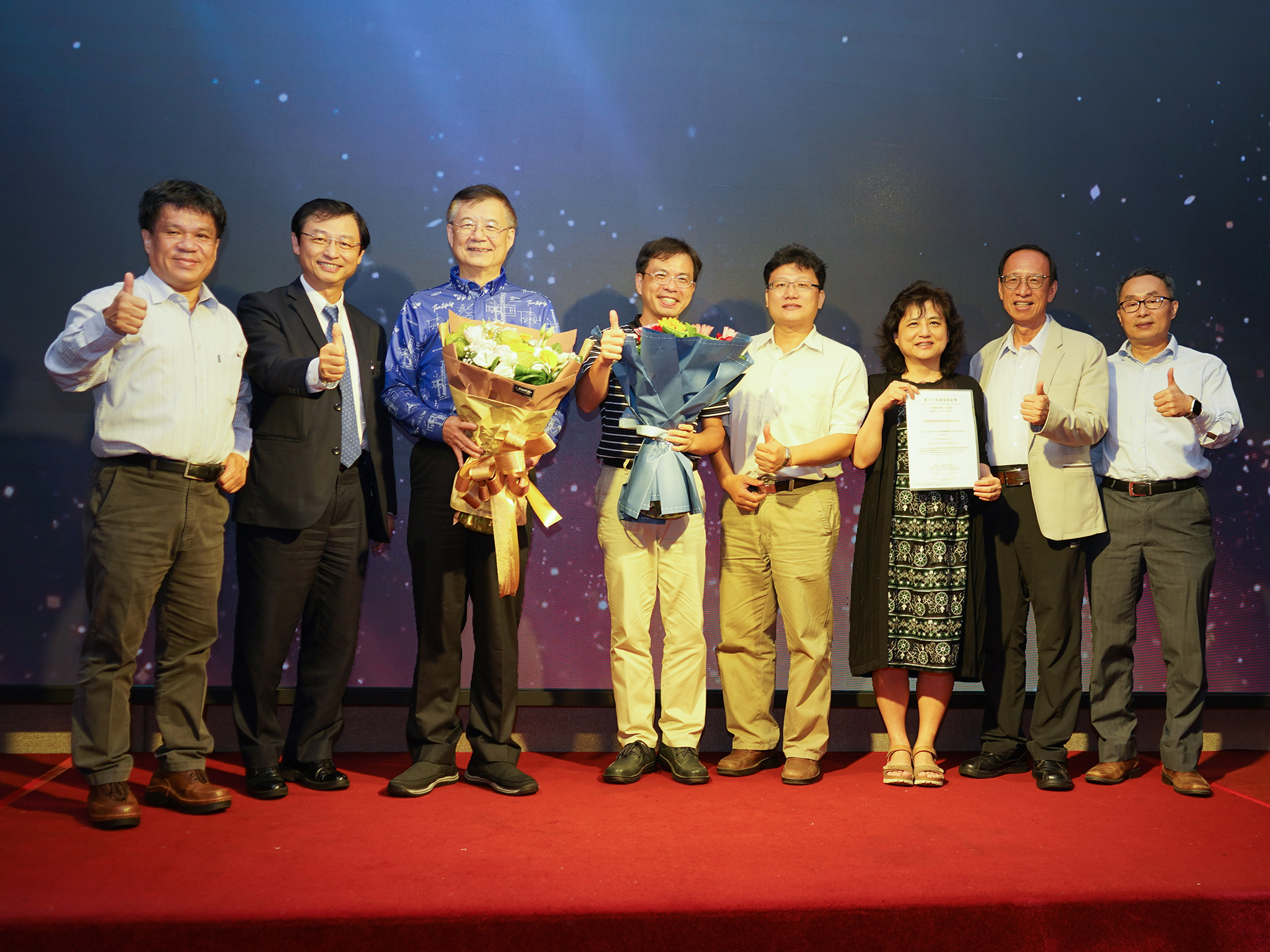 Professor Bor-Shyh Lin of the Institute of Imaging and Biomedical Photonics and the Research Team of the Chi Mei Medical Center Jointly Win National Innovation Awards